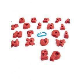 les lettres de l'alphabet pour apprendre a grimper