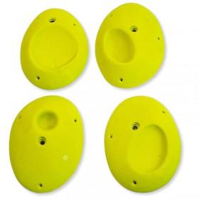 4 grosses prises en forme d'oeuf