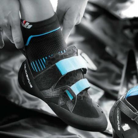 chaussette pour chausson d'escalade