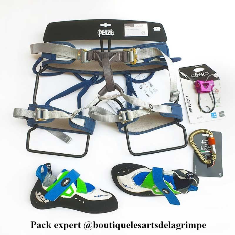 équipement grimpeur expert