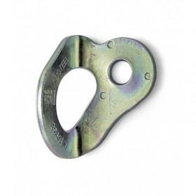 plaquette escalade fixe en acier brut