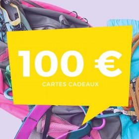 faites plaisir a vos proches offrez une carte cadeau d'une valeur de 100€
