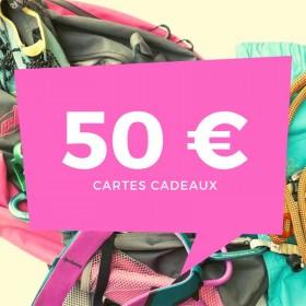 faites plaisir a vos proches offrez une carte cadeau d'une valeur de 50€