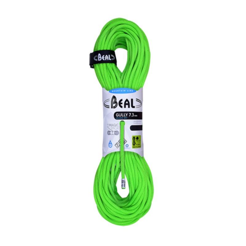 corde escalade70m vert