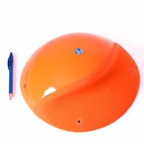 Une boule marquée d'une belle arquée.