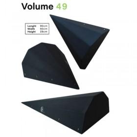volume triangulaire à facettes