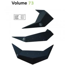 Volume d'épaisseur 13cm mais de plus de 1m de long