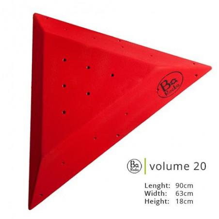 Volume 20 de chez Barocka.  Très belle grain, resistant;  Presenter en rouge, existe en huit couleurs
