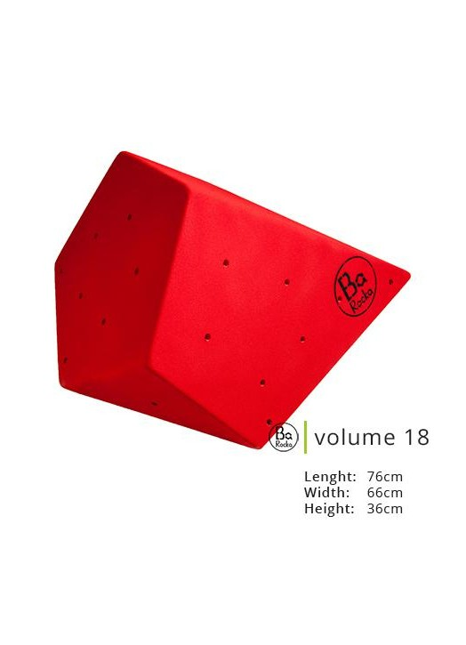 Volume 18 de chez Barocka.  Très belle grain, resistant;  Presenter en rouge, existe en huit couleurs standard