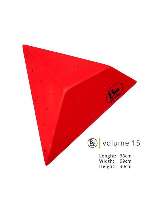Volume 15 de chez Barocka.  Très belle qualité de grain,   Existe en huit couleurs parfait pour les mur d'escalade indoor