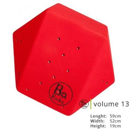Volume 13 de chez Barocka.  Très belle qualité de grain,   Existe en huit couleurs parfait pour varier les mur d'escalade
