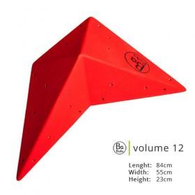 Belle volume en bois, présentation rouge.  Existe en 8 couleurs au choix.  Excellent qualité pour grimper en salle.