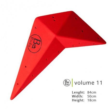Volume 11.  Belle forme originale.  Photo rouge, existe en 8 couleurs.