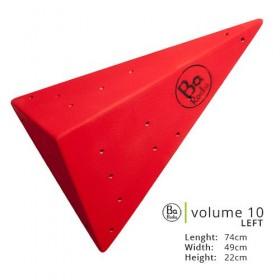 Volume 10.  Belle forme originale en point.  Photo rouge, existe en 8 couleurs.