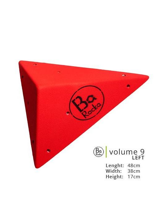 Volume 9.  Belle forme originale en point.  Photo rouge, existe en 8 couleurs.