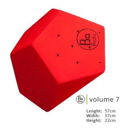 Avec sa forme géométrique à plusieurs cotés, de taille 57cm x 57cm x 22cm