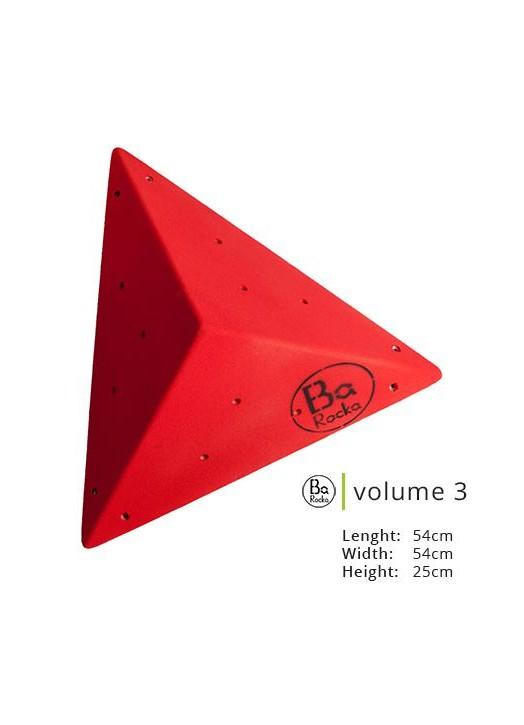 VOLUME 3 - Volume forme pyramidale - Barocka Les Arts de la Grimpe